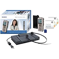 Olympus DS-2500 + AS-2400 Flash card Silver dictaphone - dictaphones (303 h, Quality Play (QP), Standard Play (SP), DSS, 2000 Ω, 200 - 7000 Hz, 303 h) - Confronta prezzi
