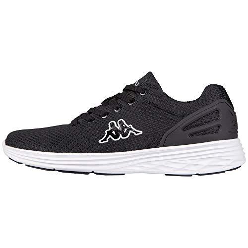 Kappa TRUST Footwear unisex, Low-Top Sneaker Unisex - adulto, Nero (1110 black/white), 37