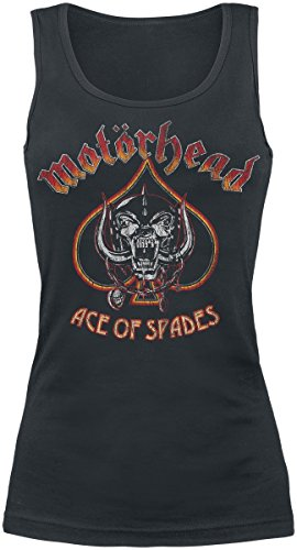 Motörhead Ace Of Spades Vintage Girl-Top schwarz XL