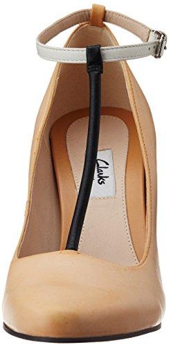 Clarks Crumble Berry, Chaussures de ville femme Marron (Tan Combi)