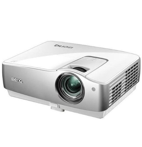 BenQ W1100 DLP-Projektor (Full-HD, Kontrast 4500:1, 2000 ANSI Lumen, 1920 x 1080) weiß