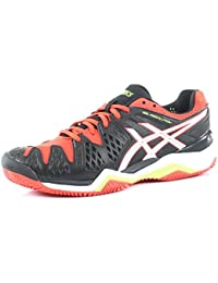 Asics Tenis Gel-Resolution 6 Clay Black / White 42m