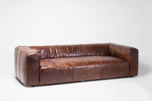 KARE Ledersofa Cubetto 3-Sitzer Leder - 2