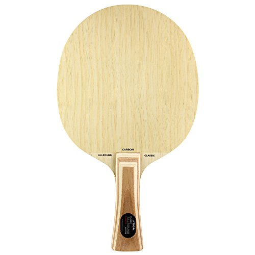 Stiga Allround Classic Carbon (Master Grip) Table Tennis Blade, Wood, One Size