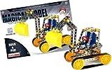 Tracteur avec remorque en métal pour enfant - 131 pièces à assembler QZ239942