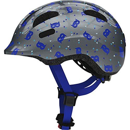 Abus Unisex– Babys Smiley 2.1 Fahrradhelm Blue mask S