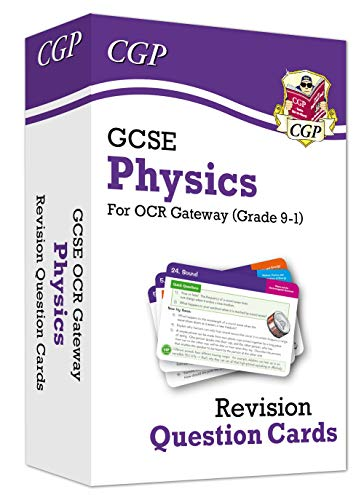 New 9-1 GCSE Physics OCR Gateway Revision Question Cards
