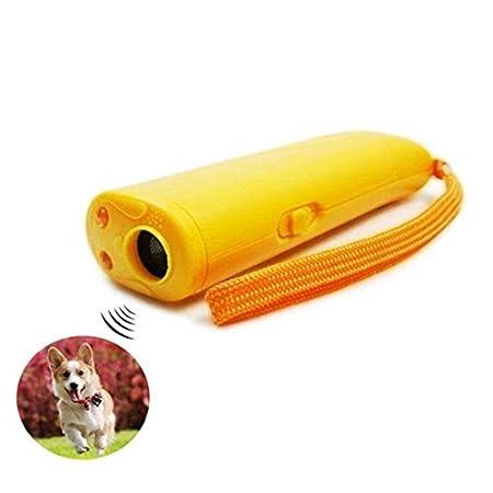 BeatlGem Pet Trainingsgerät mit LED 3 in 1 Anti-Belling Stop-Barking Ultraschall Hund Repeller