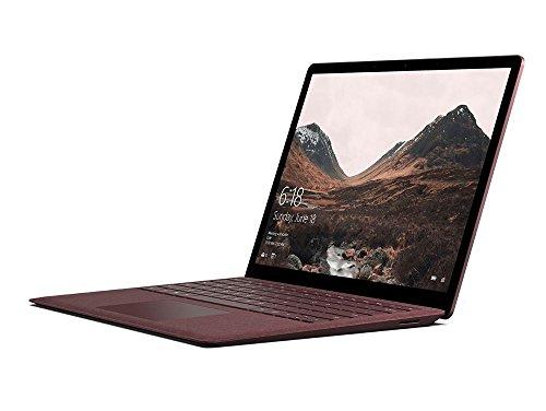 Microsoft Surface Laptop 34,29 cm (13,5 Zoll) (Intel Core i5, 256GB Festplatte, 8GB RAM, Intel HD Graphics 620, Win 10 S) Bordeaux Rot (Screen Laptop Touch Microsoft)