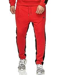 Red Bridge Herren Jogging Hose Streifen Style Sommer Dope Disco Streetstyle Fresh