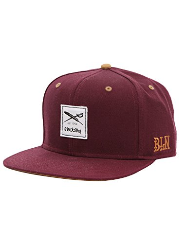 Iriedaily Daily Flag Snapback [red Wine]