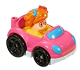 Little People Fisher Price Wheelies Push Cars Set of 3 With Sophie & Eddie - S1