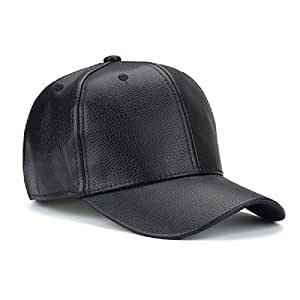 dd449a4f69c Buy Handcuffs Stylish Leather PU Leather Hip Hop Cap (Black) Online ...
