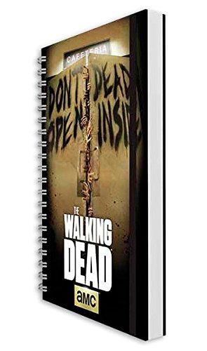 Libreta A5 The Walking Dead. Don't open dead inside