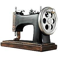 DECORACIÓN XIN Máquina de Coser Creativa Modelo Escultura Artesanía Ilustraciones Sala de Estar Ornamento de Oficina