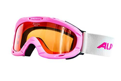 ALPINA Kinder Skibrille Ruby , rosa-pink, Einheitsgröße