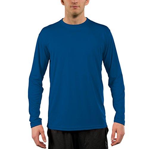 Vapor Apparel Herren UPF 50+ UV Sonnenschutz Langarm Performance T-Shirt XXXX-L Königsblau
