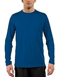 fe611f1161598e Vapor Apparel Men s UPF 50+ UV Sun Protection Performance Long Sleeve T- Shirt