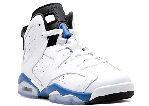 Foto de Air Jordan 6 Retro BG (GS) 'Sport Blue' - 384665-107 - Size 4 -