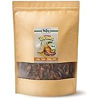 Biojoy Peras desecadas bío | 100% trozos de pera sin azúcar añadido y óxido de azufre | frutas desecadas sin aditivos en calidad bío | empaquetadas en envases con cremallera (1 kg)