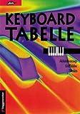 KEYBOARD TABELLE GRIFFTABELLE - arrangiert für Keyboard [Noten / Sheetmusic] Komponist: BESSLER JEROMY + OPGENOORTH NORBERT
