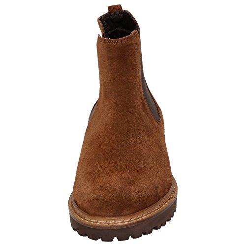 Sioux  59026, Bottes Chelsea femme Saddle
