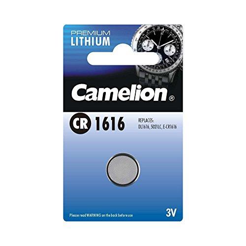 Camelion 13001161 Lithium Knopfzellen 3 Volt CR1616/1 Stück