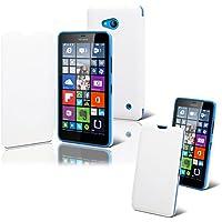 Muvit MULIT0007 Folio Blanco funda para teléfono móvil - Fundas para teléfonos móviles (Folio, Microsoft, Lumia 640, Blanco)