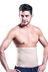 Dermawear Mens Blended Tummy Tight (A-303_Cream_Large)