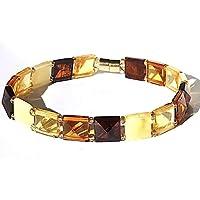 Multicolor Naturbernstein Armband für die Frau
