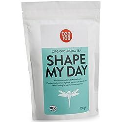SHAPE MY DAY - Slim Body Tea ohne Bitterstoffe als ideale Ergänzung deiner - Detox Tee, Diät und Reinigungskur - 108 Tassen Bio Kräutertee aus Hamburg