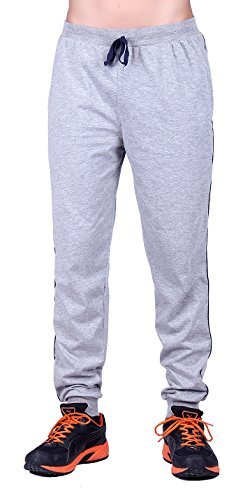 Dfh Men's Cotton Sports Trousers (Mprg001-30 _Grey)
