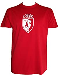 T-shirt LOSC - Collection officielle - LILLE OLYMPIQUE METROPOLE - Football club Ligue 1 - Tee shirt adulte