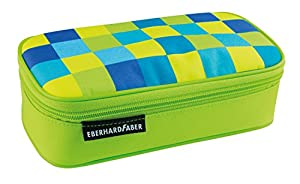 Eberhard Faber 577546Jumbo Estuche Cuadros, Color Verde