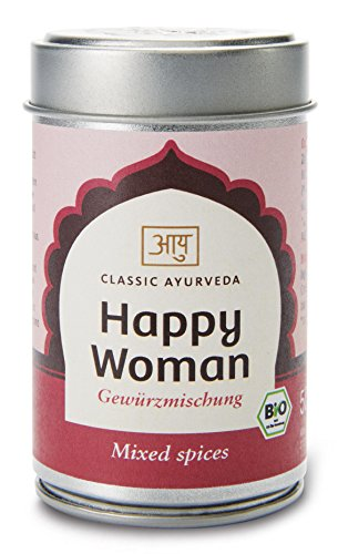 Classic Ayurveda Bio Happy Woman Gewürzmischung, 50 g