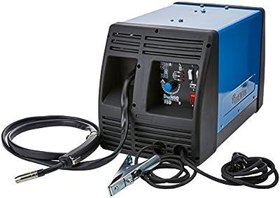 Cevik CE-DUEMIG130 - Equipo de Soldadura 100 A. MIG-MAG. Para hilo animado(0,8-0,9 mm),acero (0,6-0,8 mm),acero inox.(0,8 mm.) y aluminio (0,8 mm).4 regulaciones