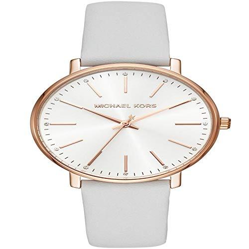 MICHAEL KORS Damen Analog Quarz Uhr mit Leder Armband MK2800