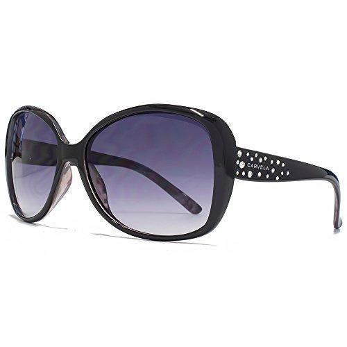 Nerd clear cool neon ovale lunettes de soleil avec verres miroir style rétro imprimé léopard atze été trend 2015 - - Gris sUQYM,