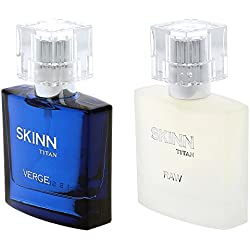 Titan Skinn Verge And Raw Fragrances For Men