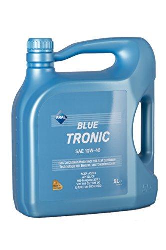 Preisvergleich Produktbild ARAL BlueTronics 10W-40 Motorenöl,  5 Liter
