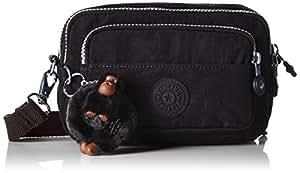 Kipling Multiple, Women's Shoulder Bag, Schwarz (Black), One Size