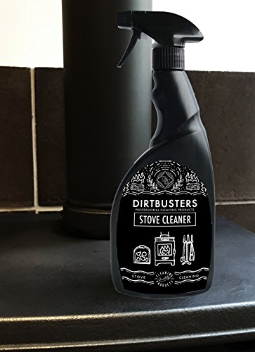 This comes in a 250ml bottle that is said to last four times longer than similar products but we don't know this for sure so we will have to trust Dirtbusters on this. This formula is primarily intended for cleaning the exterior of a wood burning stove. It removes soot, carbon, fingerprints, and ash build up.