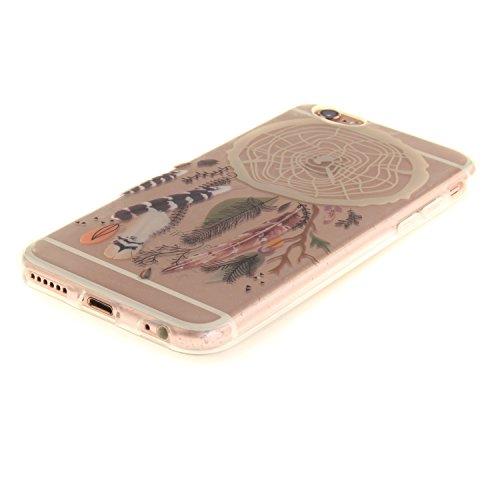 """MOONCASE iPhone 6 / 6S Coque,Etui de Protection Coque Slim Antidérapant Case en TPU Gel Avec Absorption de Chocs pour iPhone 6S / iPhone 6 (4.7 """") TX08 TX01"""