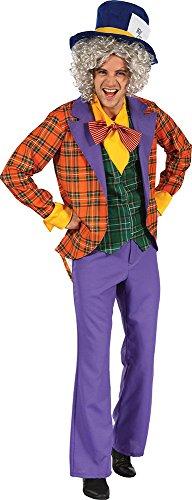 Erwachsene Herren Alice im Wunderland Kostüm Party Outfit -