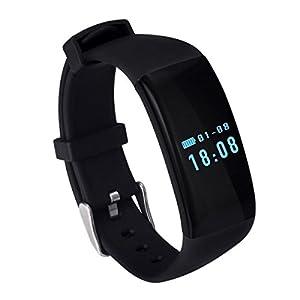 DANILE Präzise Herzfrequenzmessung Intelligent Tief Wasserdicht Sport Pedometer Flip-Screen Sport Armband