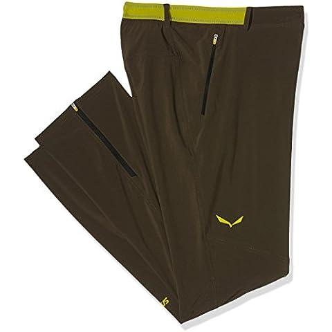 Salewa Pedroc 2 DST M - Pantalón impermeables para hombre, color gris, talla M