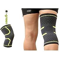 Rocita Soporte de compresión de la rodilla,soporte de la rodilla,manga elástica y