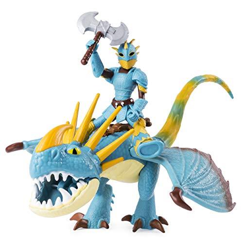 Spin Master Dragons Dragon & Viking Astrid/Stormfly - Figuras de Juguete para niños, 4 año(s), Niño/niña, Dibujos Animados, Animales, Dragon Riders