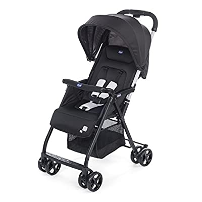 Chicco Oh La La Lightweight Stroller, Black  iSafe