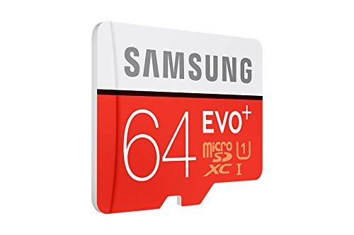 Samsung Evo+ 64GB Class 10 microSDXC Card with SD Adapter (MB-MC64D)